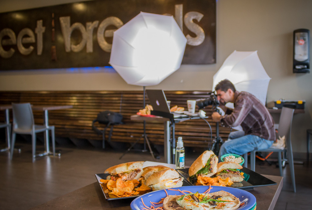 Street Breads – Food Photo Shoot
